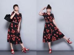 尽显时尚女子多变样貌的摩登六月 完美演绎MARELLA春夏新作的不凡品味